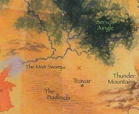 트라바르와 뱀강 사이에 위치한 교역촌 보렌드